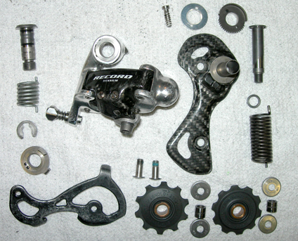 Rear Derailleur Disassembled